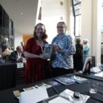 Susan with author and editor Diane Piron-Gelman